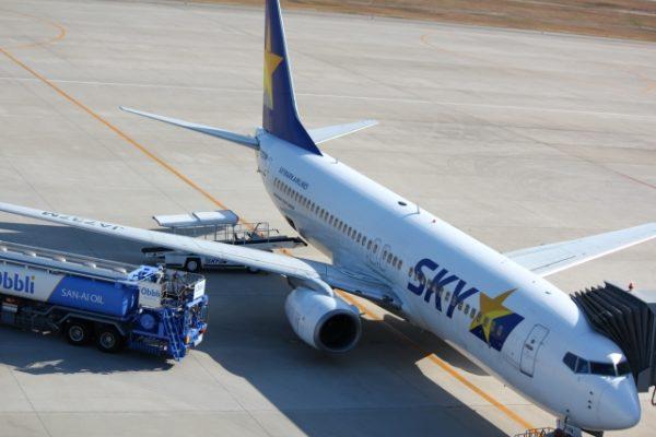 スカイマーク飛行機