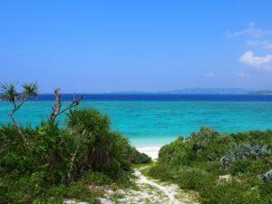 水納島の海